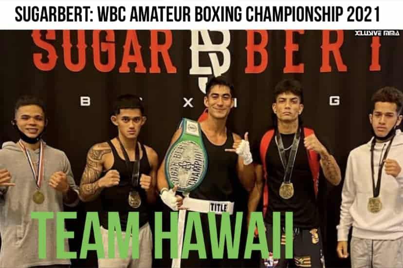 Hawaii MMA News: The boys represented Hawaii well last weekend at the 2021 Sugar Bert Boxing Amateur World Championship.