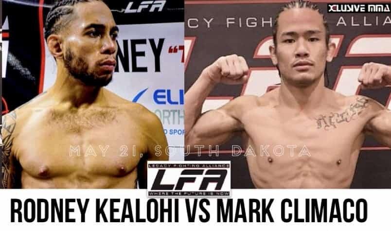 Mark Climaco vs Rodney Kealohi