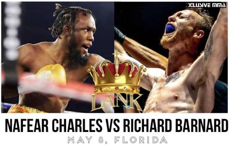 Nafear Charles vs Richard Barnard