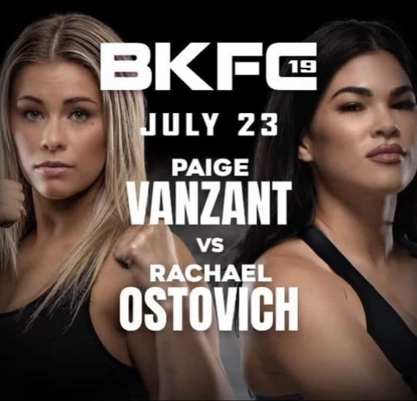 Rachael OStovich vs Paige Vanzant at Bare Knucle FC