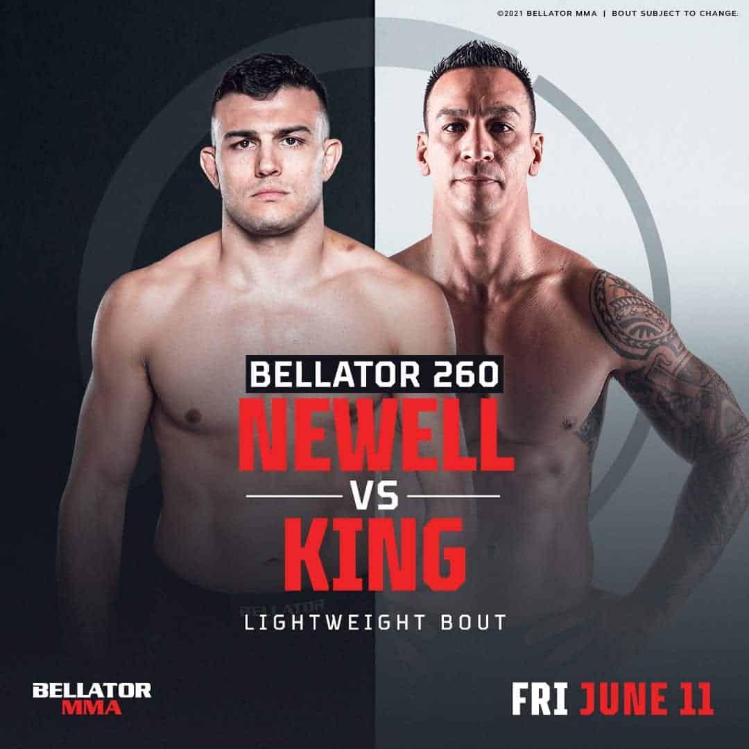 Bobby King vs Nick Newell Bellator