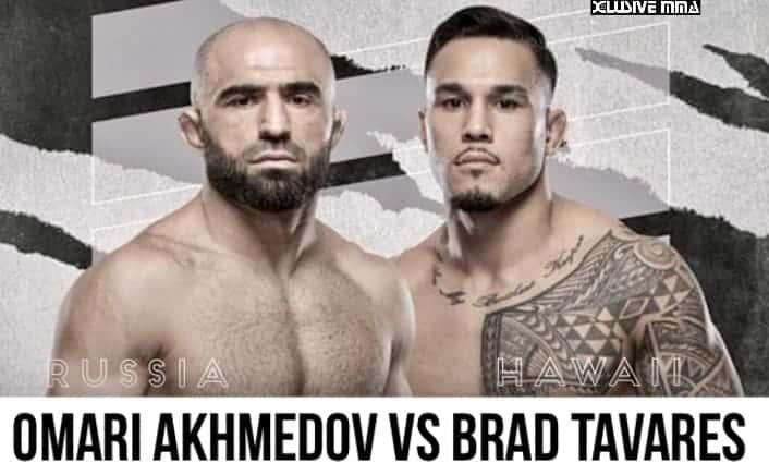 Brad Tavares vs Omari Akhmedov
