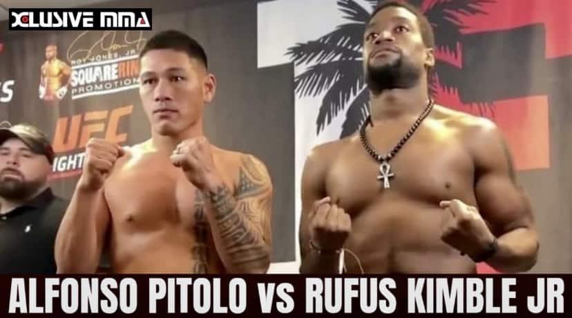 Alfonso Pitolo Faceoff Rufus Kimble Jr