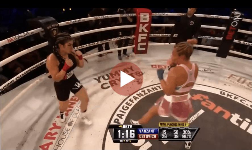Rachael Ostovich vs Paige Vanzant Full Fight HD