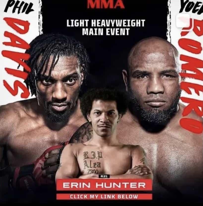 Erin Hunter vs Bobby Seronio Bellator