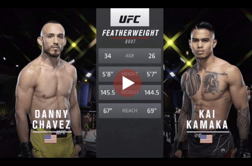 Kai Kamaka iii vs Danny Chavez Full Fight HD