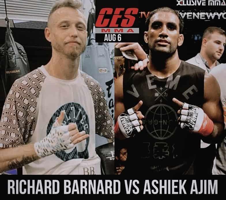 CES MMA Richard Barnard vs Ashiek Ajim