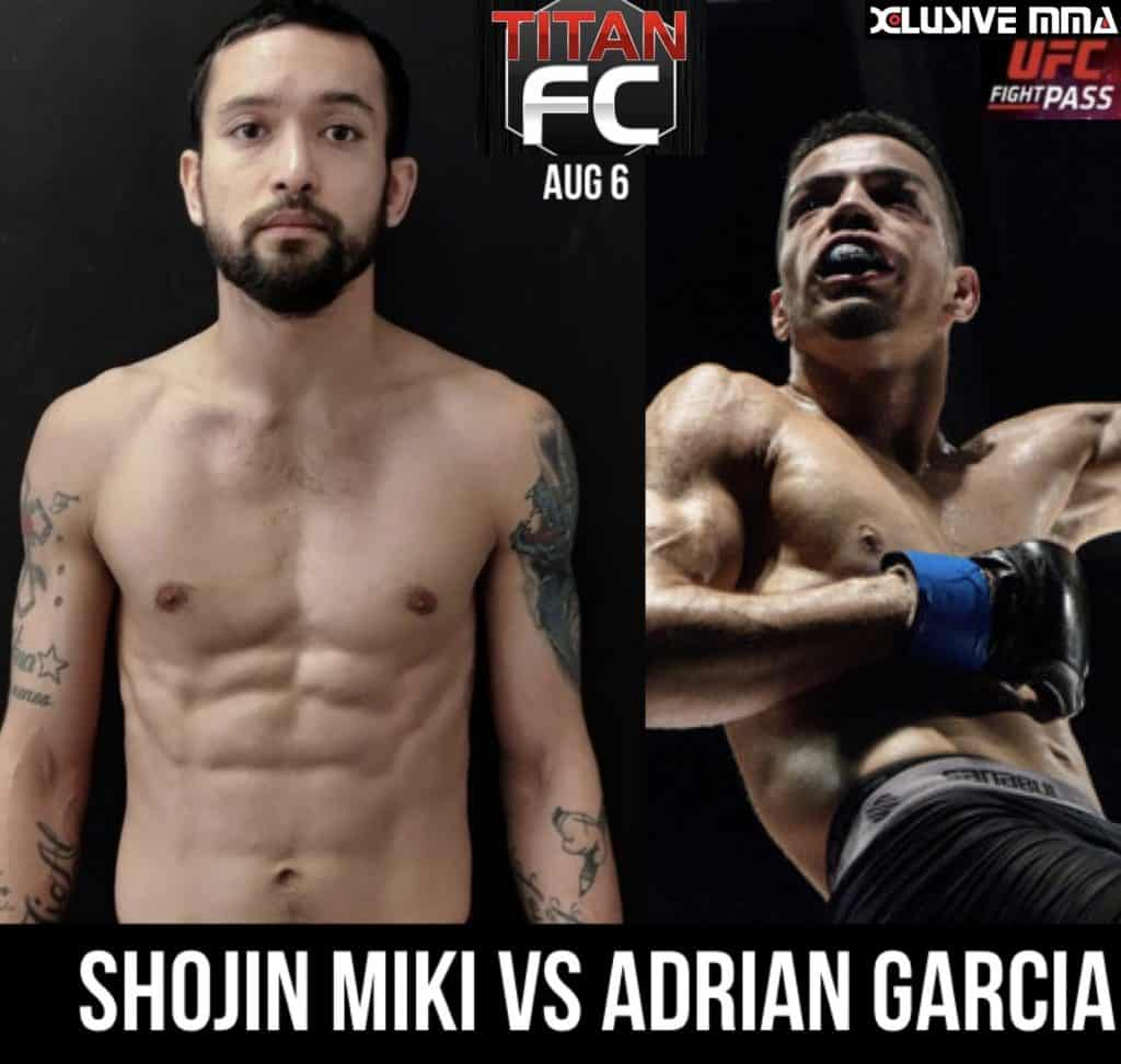 Titan FC Shojin Miki vs Adrian Garcia