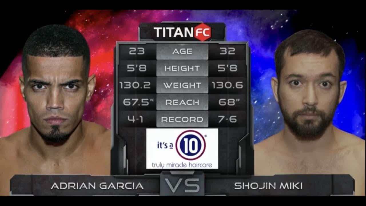 Shojin Miki vs Adrian Garcia Fight Highlights