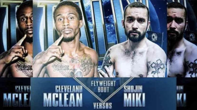 Combat Night Shojin Miki vs Cleveland Mclean